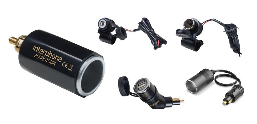 Adaptadores USB de Guidão