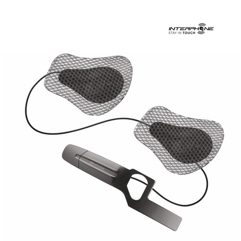 kit audio interphone capacete hjc
