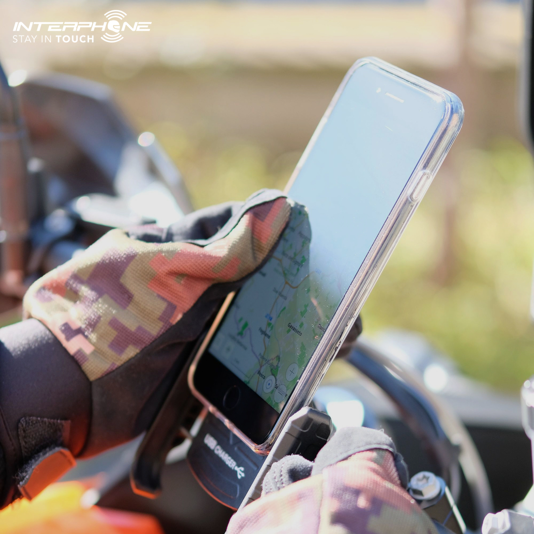 suporte celular moto usb universal
