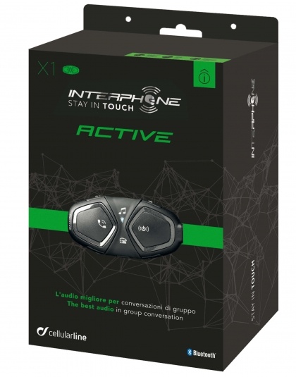 Intercomunicador Bluetooth Interphone Active